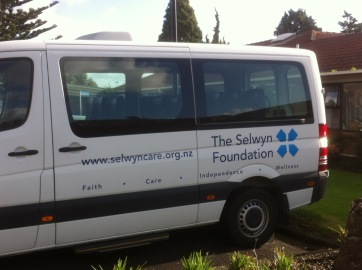 Faith, Care, Independence & Wellness, the Christian message of the Selwyn Foundation.